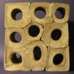 Bunky, 2005, impregnovaný papier, 20cm
