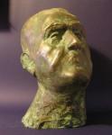 Tichý portrét, 1996, bronz